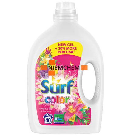 Surf Color Tropical Lily Ylang Żel Prania 40pr 2L
