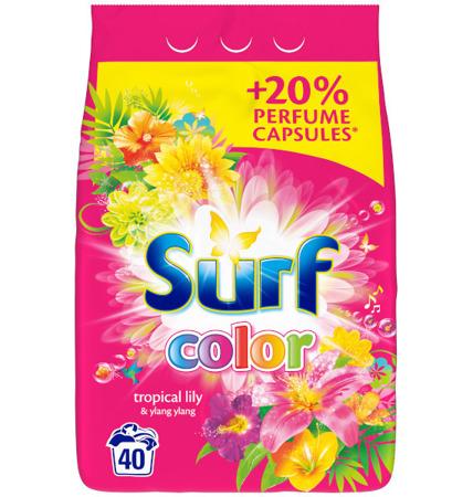 Surf Tropical Lily & Ylang Ylang Color Proszek do Prania 40pr 2,6kg