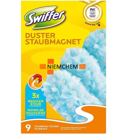 Swiffer Wkłady Miotełki do Kurzu 9 Sztuk DE