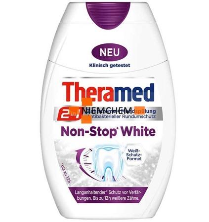 Theramed 2w1 Non Stop White Pasta do Zębów 75ml BE