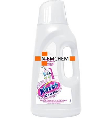 Vanish Oxi Action White Odplamiacz do Białego Płyn 2L PL