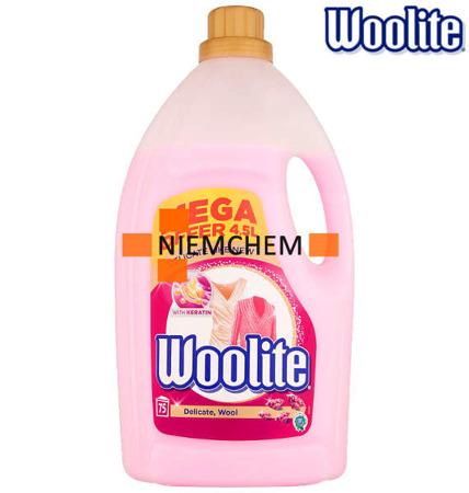 Woolite Delicate Płyn do Prania Delikatnego 75pr 4,5L