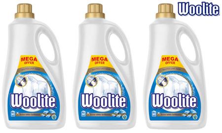 Woolite Extra White Płyn do Prania Białego i Jasnego 180pr 3 x 3,6L
