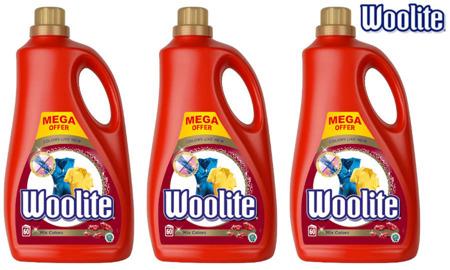 Woolite Mix Colors Płyn do Prania Kolorowego 180pr 3 x 3,6L
